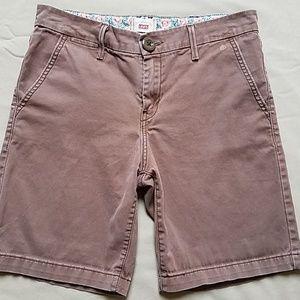 Levi's Women's Brown Bermuda Shorts